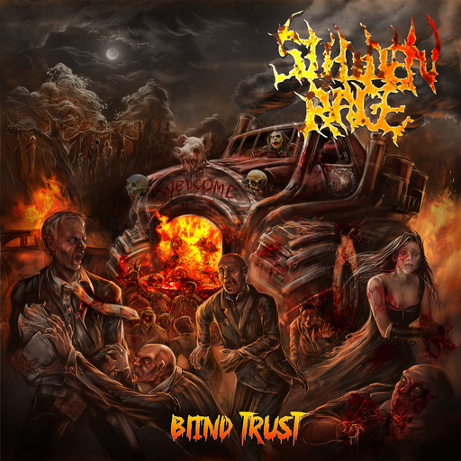 SUDDEN RAGE - Blind Trust CD