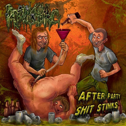 ANALKHOLIC - After Party - Shit Stinks CD