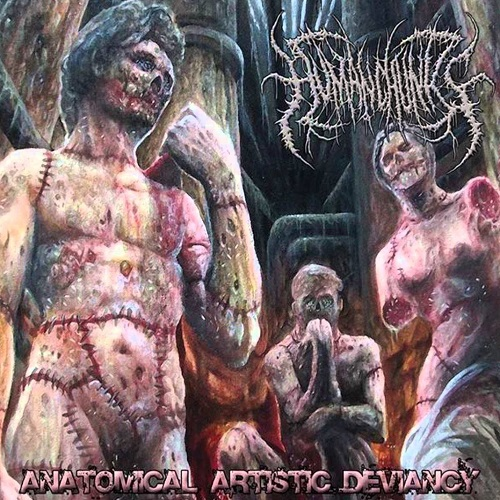 HUMAN CHUNKS - Anatomical Artistic Deviancy CD
