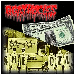 AGATHOCLES/AMOCLEN split CD
