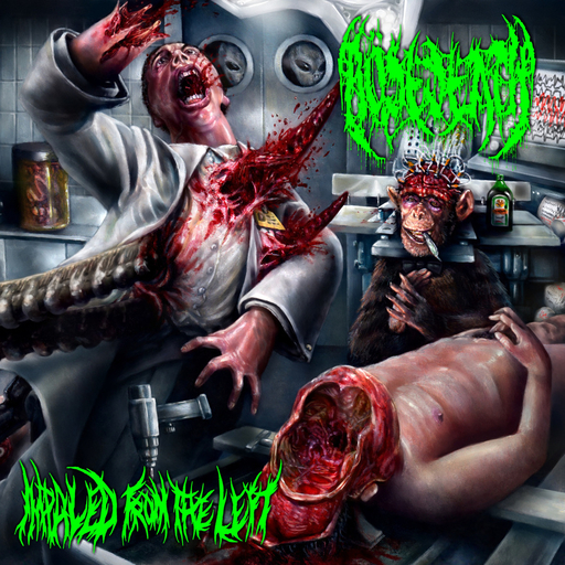 BOSEDEATH - Impaled From The Left CD