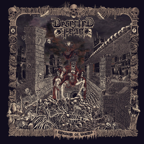 DESERTED FEAR - Kingdom of Worms CD
