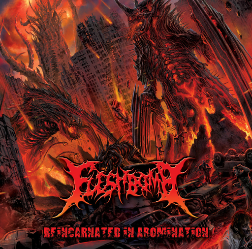 FLESHBOMB - Reincarnated In Abomination CD