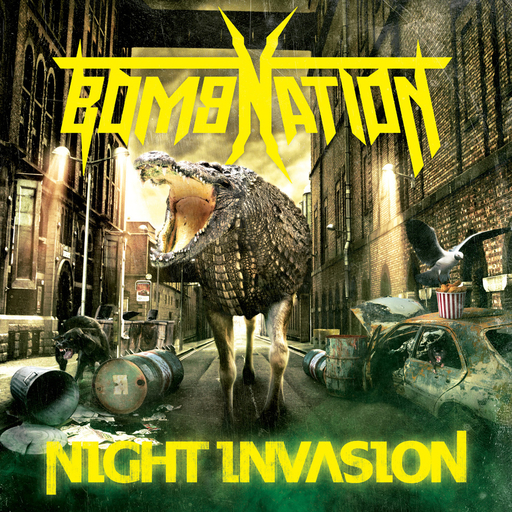 BOMBNATION - Night Invasion CD
