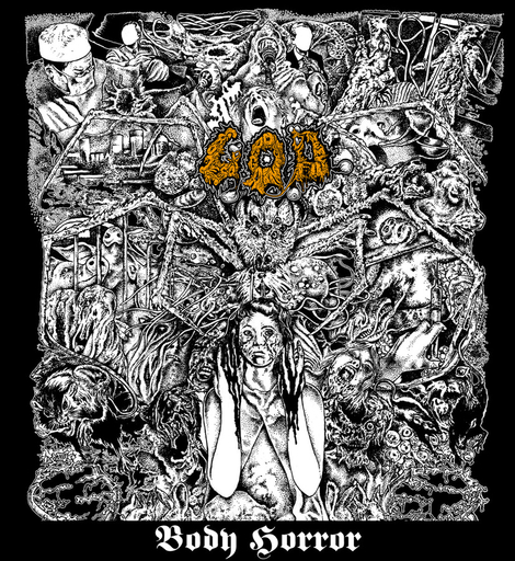 G.O.D. - Body Horror CD