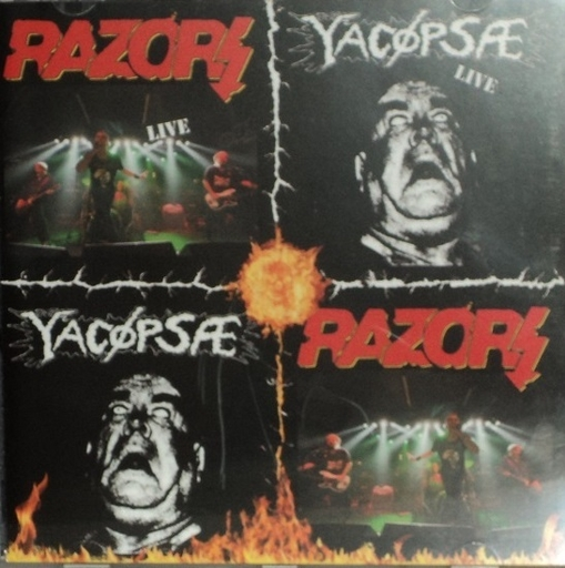 RAZORS/YACOEPSAE - Split CD