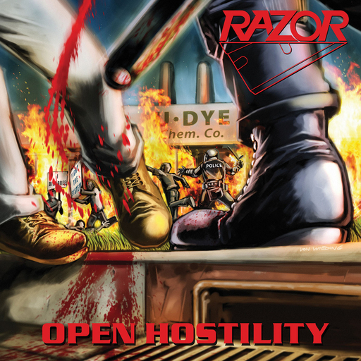 RAZOR - Open Hostility CD