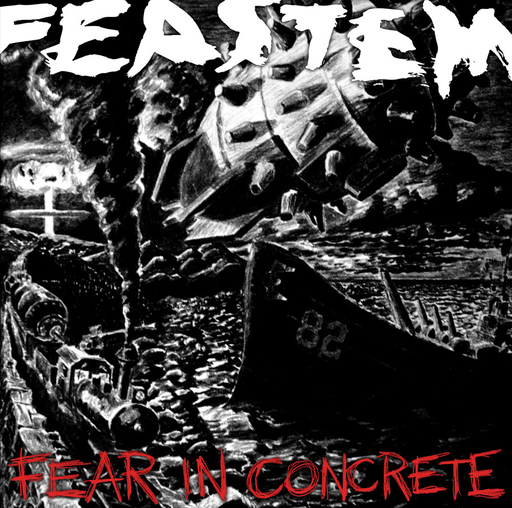 FEASTEM - Fear In Concrete CD