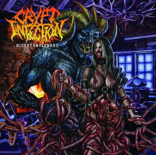 CRYPT INFECTION - Disentanglement CD