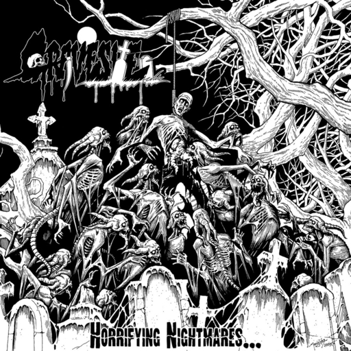 GRAVESITE - Horrilying Nightmares CD