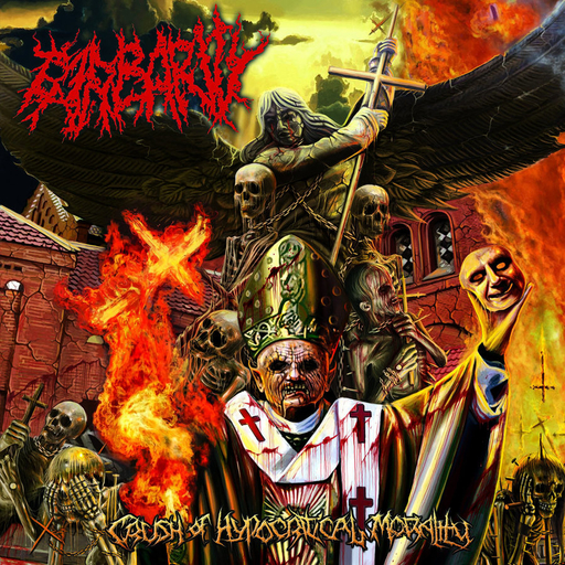 BARBARITY - Crush of Hypocritical Morality CD