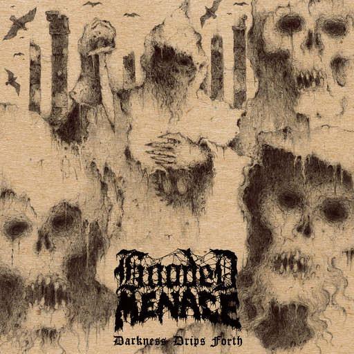 HOODED MENACE - Darkness Drips Forth CD