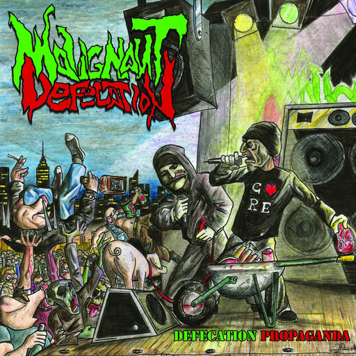 MALIGNANT DEFECATION - Defecation Propaganda CD