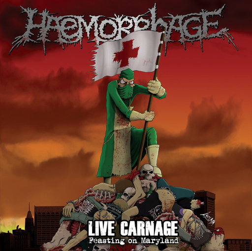HAEMORRHAGE - Live Carnage CD