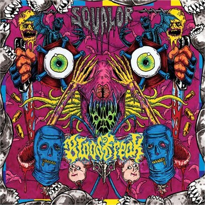 BLOOD FREAK - Squalor CD