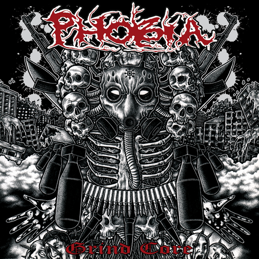 PHOBIA - Grind Core CD