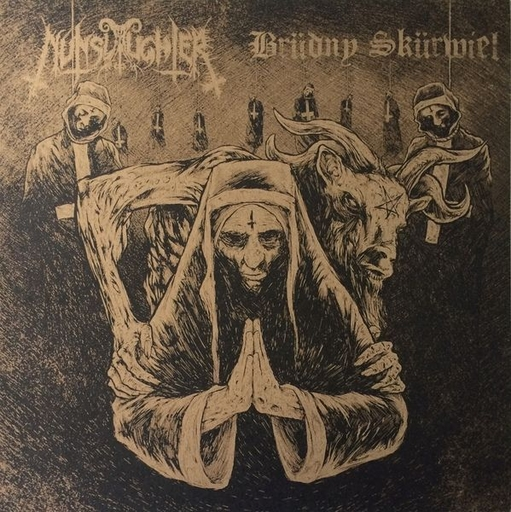 NUNSLAUGHTER/BRUDNY SKURWIEL split LP