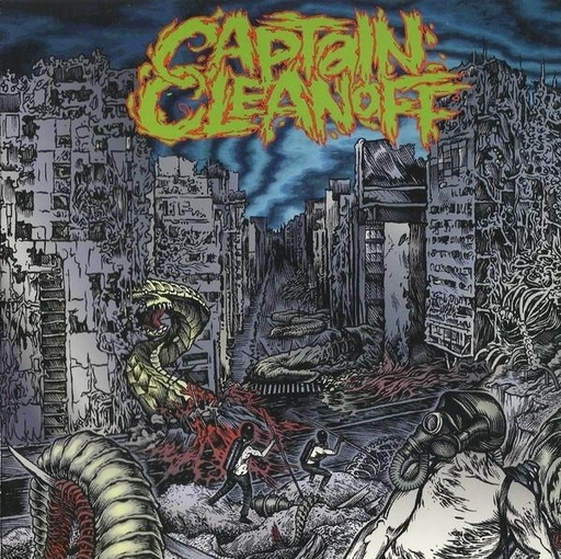 "THE KILL / CAPTAIN CLEANOFF split 7"" EP"