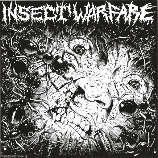 "INSECT WARFARE / CARCASS GRINDER split 7"" EP"