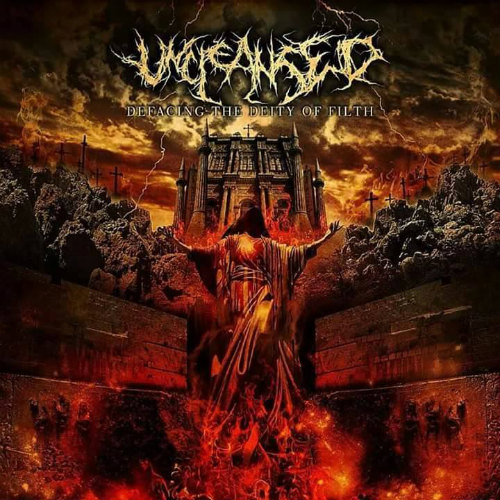 UNCLEANSED - Defacing The Deity Of Filth CD digipack