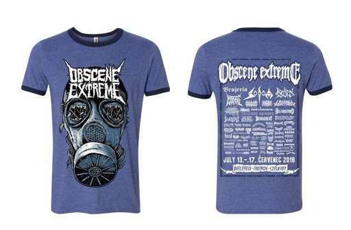 OBSCENE EXTREME 2016 - INSECT WARFARE + OBSCENE EXTREME CHARITY/BANDS - Blue Ringer TS