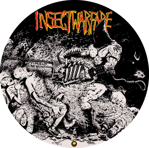 INSECT WARFARE - At War With Grindcore picture LP