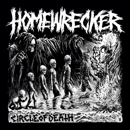 HOMEWRECKER - Circle of Death CD
