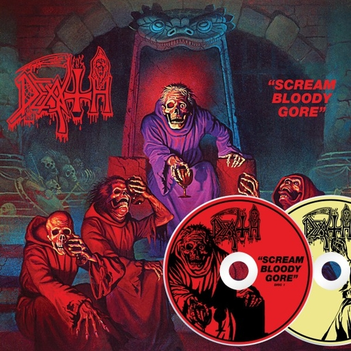 DEATH - Scream Bloody Gore 2xCD