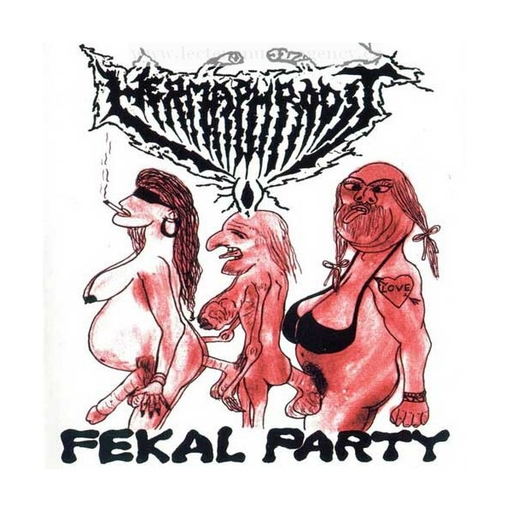 HERMAPHRODIT - Fekal Party LP