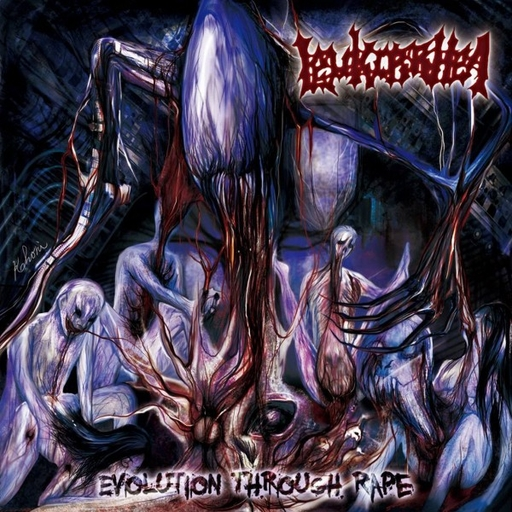 LEUKORRHEA - Evolution Through Rape CD