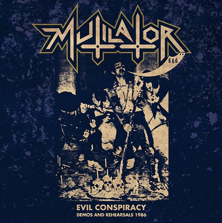 MUTILATOR - Evil Conspiracy LP + CD