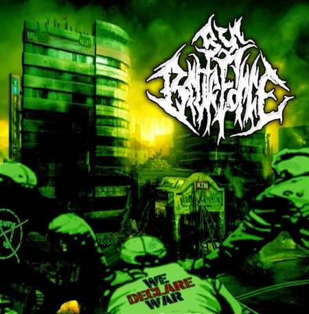 BY BRUTE FORCE - We Declare War CD digipack