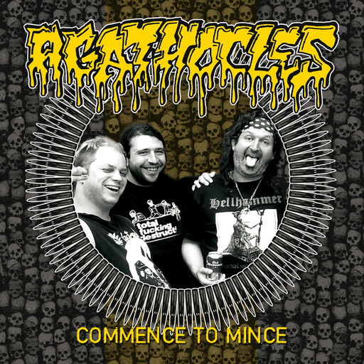 AGATHOCLES - Commence To Mince CD