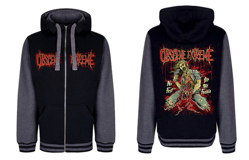 OBSCENE EXTREME 2017 – NO FEST FOR FEEBLE - HOODIE CHORAL ZIP