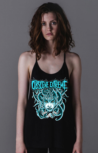 OBSCENE EXTREME 2017 – MEDUSA BLUE - GIRLIE TOP