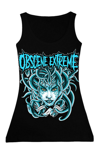 OBSCENE EXTREME 2017 – MEDUSA BLUE- GIRLIE TOP