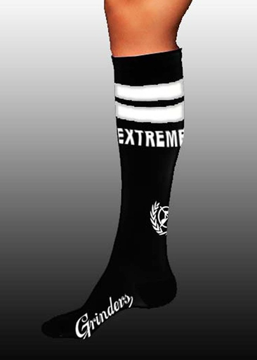 OBSCENE EXTREME 2017 – KNEE SOCKS - GRINDERS WHITE
