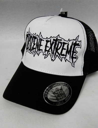 OBSCENE EXTREME 2017 – TRUCKER WHITE/BLACK