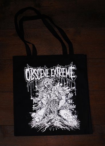 OBSCENE EXTREME 2017 – BAG - NO FEST FOR FEEBLE