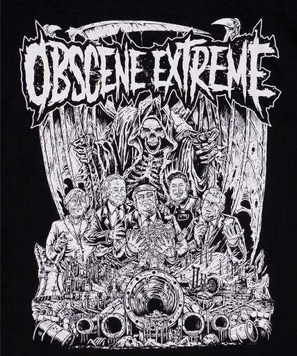 OBSCENE EXTREME 2017 – BACKPATCH - SCUM