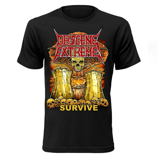 OBSCENE EXTREME 2017 – NUCLEAR ASSAULT / OBSCENE EXTREME CHARITY TS - BLACK