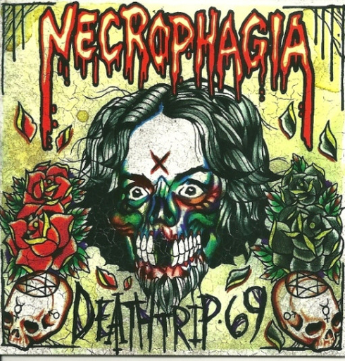 NECROPHAGIA - Deathtrip 69 CD digipack