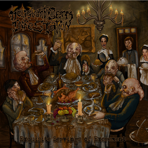 MALIGNANT GERM INFESTATION - Exquisite Servings of Excrement CD