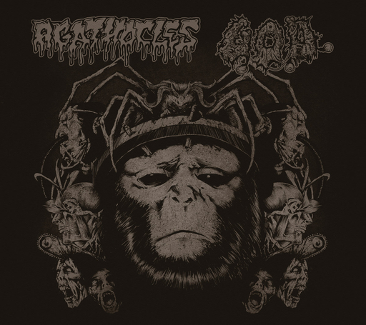 AGATHOCLES/G.O.D. Split CD digipack