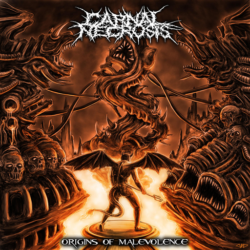 CARNAL NECROSIS - Origins Of Malevolence CD