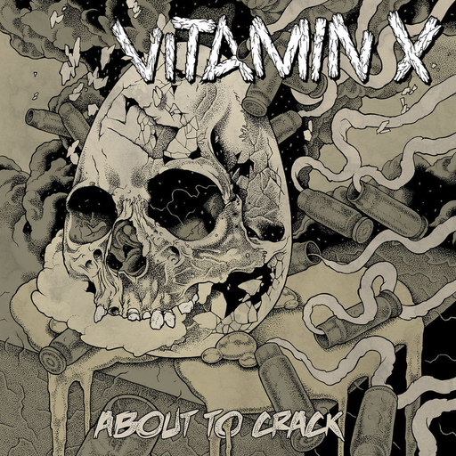 VITAMIN X - About To Crack CD Digipack