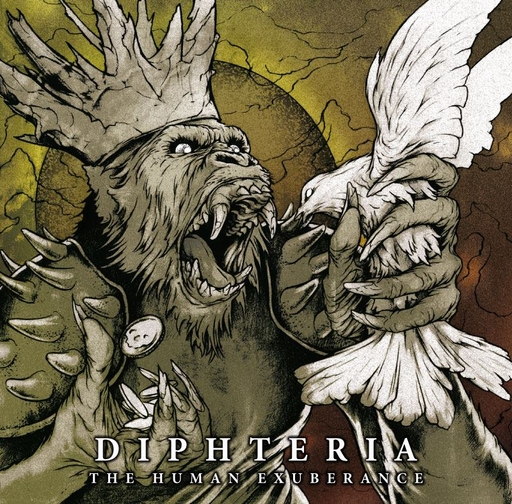 DIPHTERIA - The Human Exuberance CD
