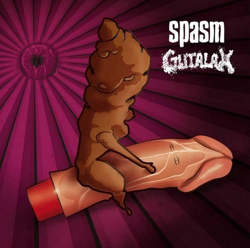GUTALAX / SPASM split CD