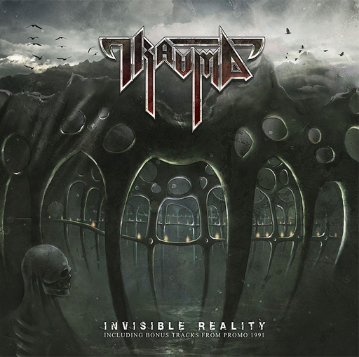 TRAUMA - Invisible Reality + Promo 1991 CD