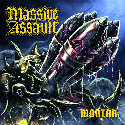 MASSIVE ASSAULT - Mortar - CD